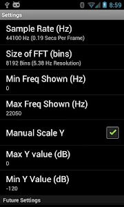 Spectrum Analyzer screenshot 3