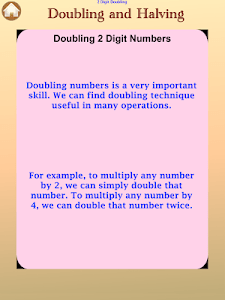 Doubling And Halving screenshot 12