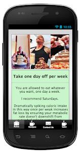 Slow Carb Diet screenshot 0