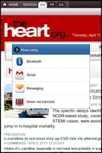 theHeart.org screenshot 1