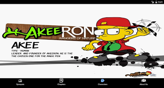 AkeeRON Comic screenshot 8