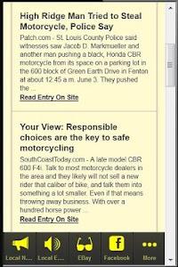CBR 600 screenshot 3