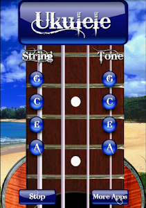 Free Ukulele Tuner screenshot 0