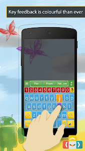ai.type Sketch Colors Keyboard screenshot 1