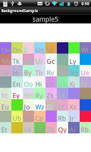 BackgroundDraw ~sample~ screenshot 4