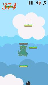 Jumping Doodle Cat screenshot 0