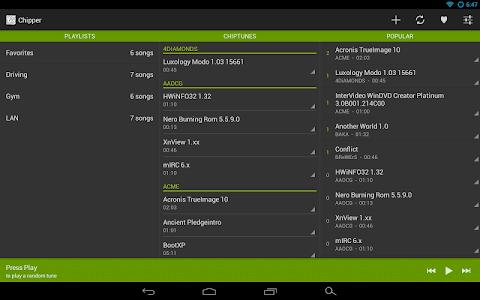 Chipper - A Keygen Jukebox screenshot 8