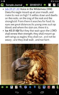 MySword Bible screenshot 15