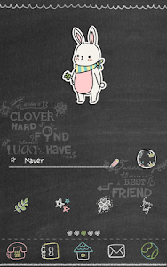 Lucky clover(graffiti)Dodol screenshot 0