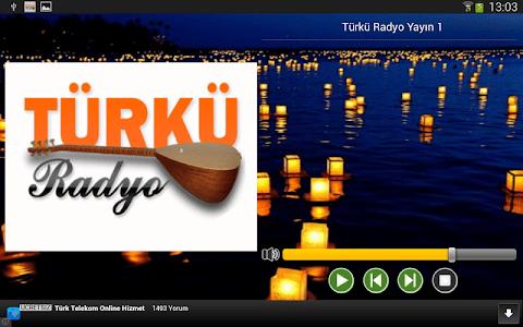 Türkü Radyo Resmi Uygulama screenshot 8