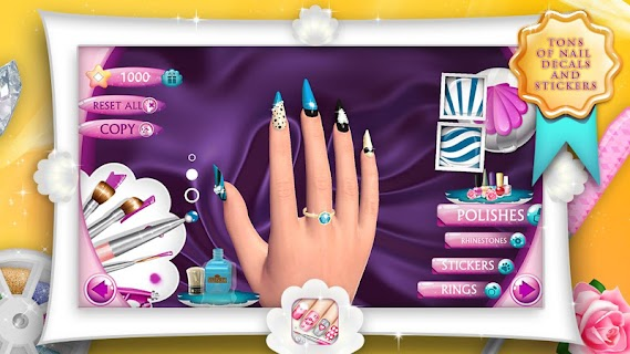 Fashion Nails 3D Girls Game screenshot 07