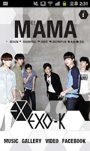 EXO-K MAMA screenshot 0