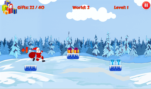 Christmas Santa Run screenshot 9