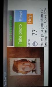 Face analyzer screenshot 3
