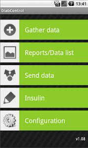DiabControl screenshot 2
