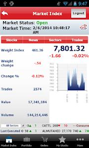 Gulf Bank Mobile Trader screenshot 1
