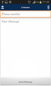 Geni SMS screenshot 1