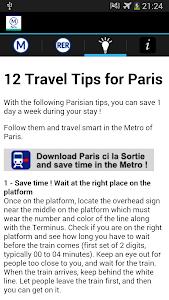 Metro Map Paris - Map and Tips screenshot 2