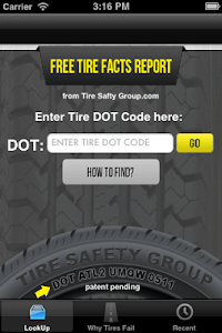 Tire Facts screenshot 0