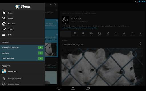 Plume for Twitter screenshot 07