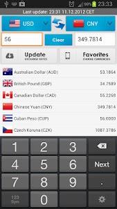 Currency Converter Live screenshot 1