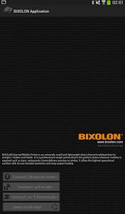BIXOLON Printer Demo 14 screenshot 0