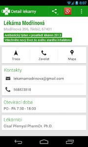 Czech Pharmacies screenshot 2