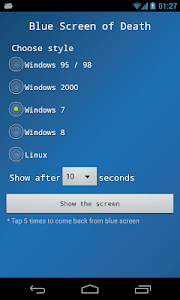 Blue Screen screenshot 1