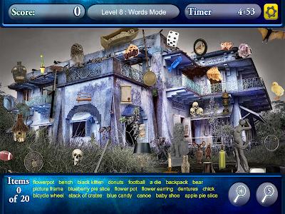 Hidden Objects Haunted Worlds screenshot 7
