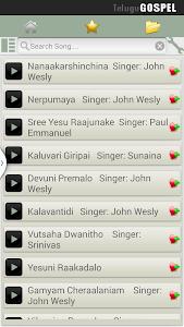 Telugu Gospel Songs Pro screenshot 1