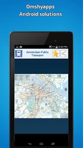 Amsterdam public transport map screenshot 6