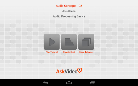 Audio Processing Basics screenshot 0