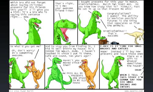 Dinosaur Comics plugin for FCR screenshot 2