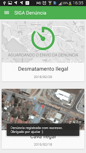 SIGA Denúncia screenshot 2