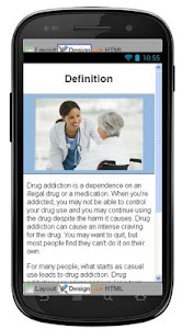 Drug Addiction Information screenshot 1