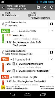 Offi - Journey Planner screenshot 03