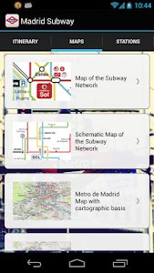 Madrid Subway Off-Line screenshot 2
