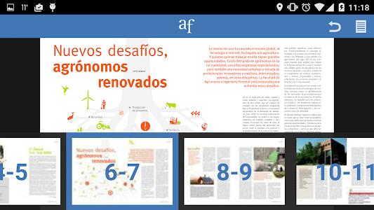 Agronomía y Forestal UC screenshot 3