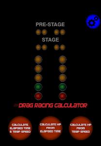 Drag Racing Calc screenshot 0