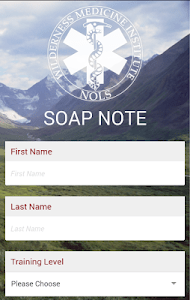 SOAP Note screenshot 0