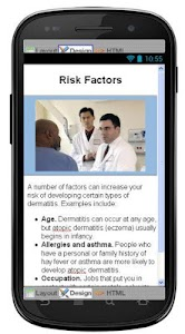 Dermatitis Eczema Information screenshot 4