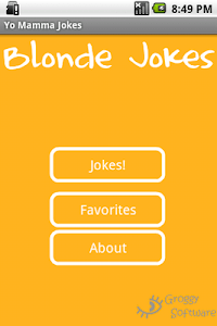 Blonde Jokes screenshot 0