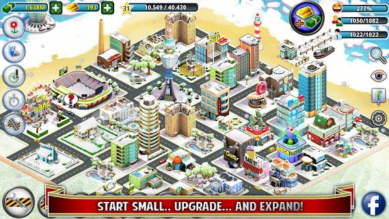 City Island: Winter Edition screenshot 01