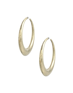 Metal Hoop Earrings by ASOS