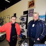 Simo Lampinen (Finnish Rally Legend), Juha Lehtonen (President of Saab Club of Finland).