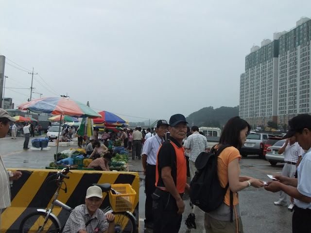 farmer's morning market in Wonju