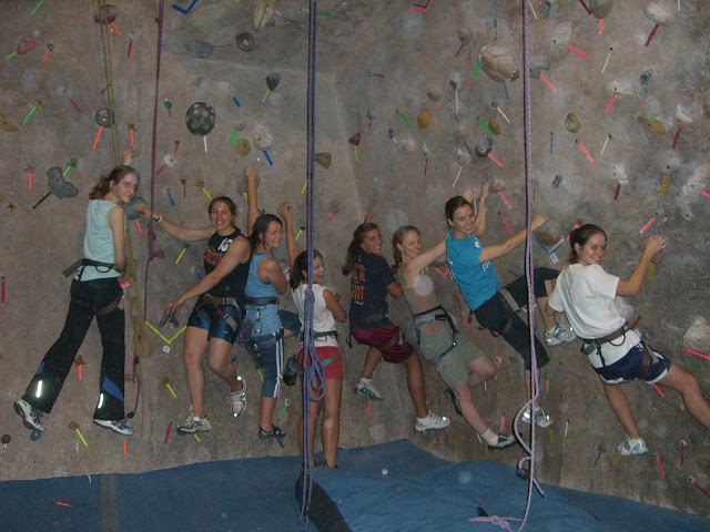 UW-Madison goes rock climbing!