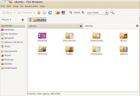 nautilus screenshot ubuntu 10.04
