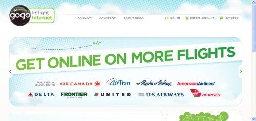 Gogo, Internet en los aviones
