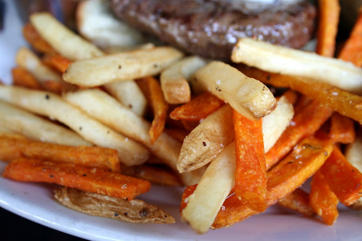 French Fries & Sweet Potato Fries